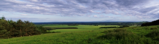 Looking over the Cheviot Valley