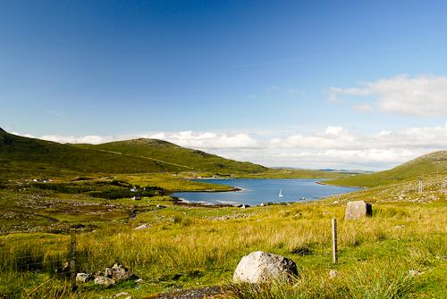 Fresh water lake, Lewis, Outer Hebrides, Scotland (PA0, PC0)